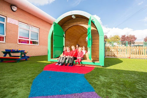 earth pod, outdoor classrooms