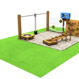 Water Area sensory playground equipment