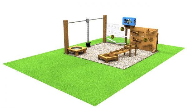 Water Area sensory playground equipment