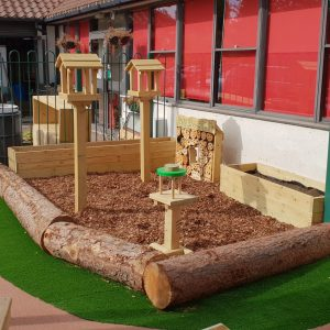 outdoor playground equipment natural area