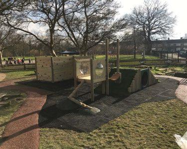 Grass Mats outdoor playground surfacing