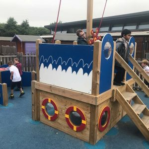 outdoor playground equipment pirate ship