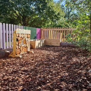 bark outdoor playground surfacing