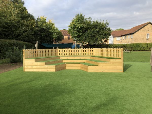 outdoor playground equipment role play equipment stage
