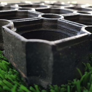 playground surfacing grass mats