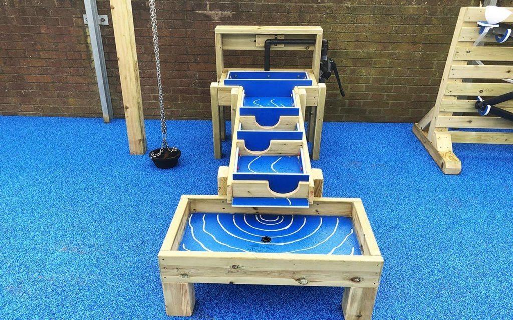 water wall sensory playground equipment