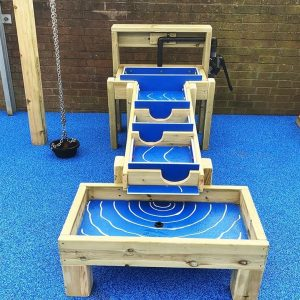 water wall sensory playground equipment