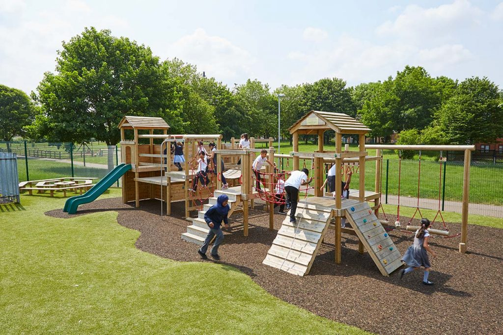 outdoor climbing frame