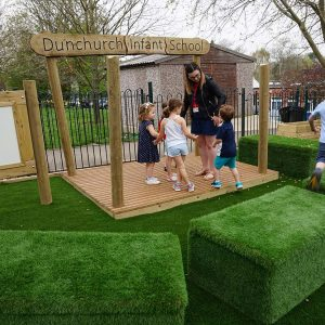 outdoor playground equipment stage