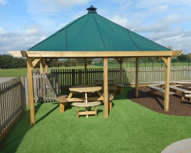 outdoor playground equipment gazebo