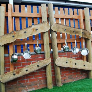 music wall sensory playground equipment