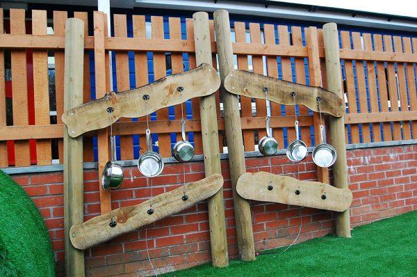 music wall sensory playground equipment