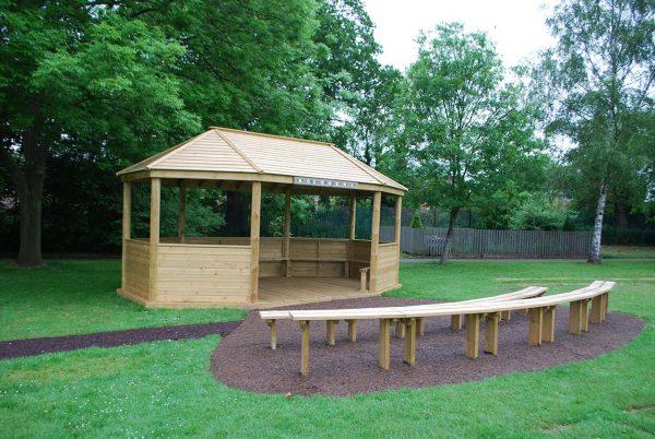 outdoor playground equipment Amphitheatre