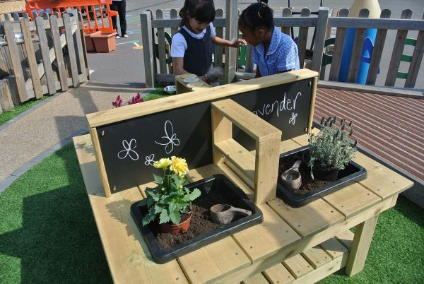 outdoor playground equipment table