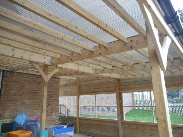outdoor playground equipment canopy