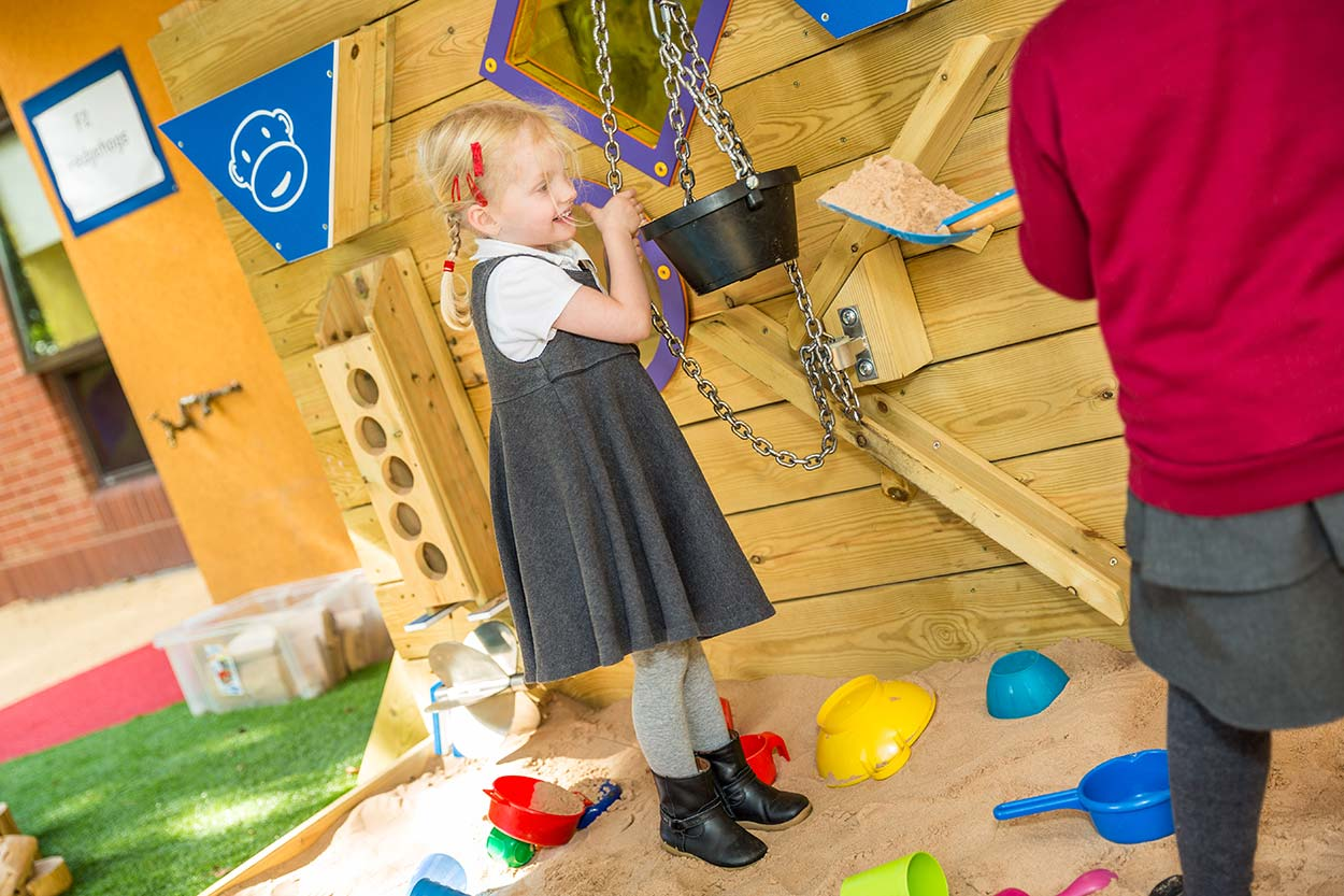 sand wall sensory playground equipment