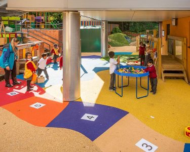 Wet-Pour Playground Surface