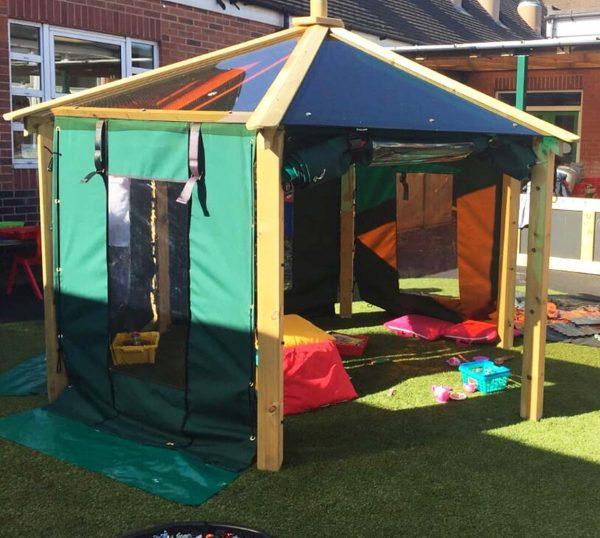 outdoor playground equipment rainbow gazebo