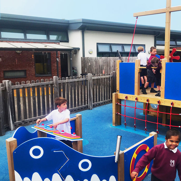 Pirate Ship for Schools