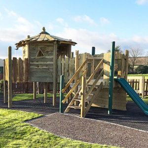 Woodland Tree House wooden climbing frame