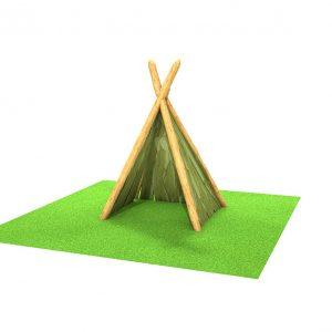 woodland teepee