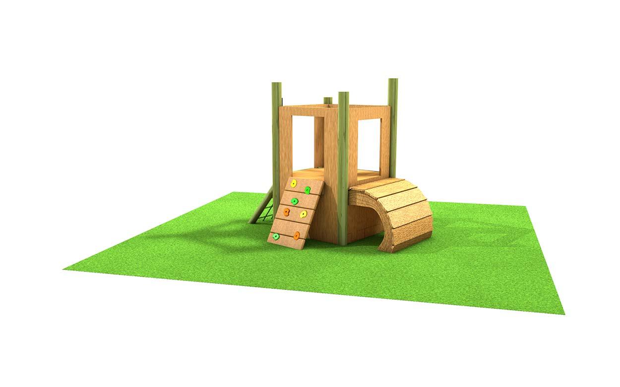Woodland Fort Challenge