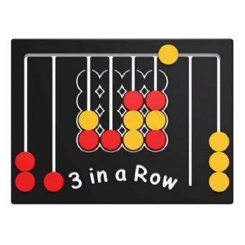 3 in a Row Game Play Panel sensory play