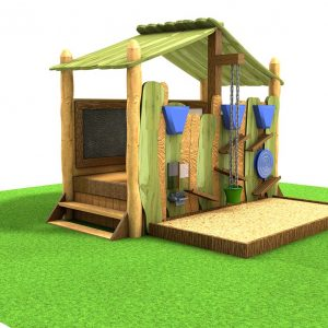 Woodland Sensory Grass Mound