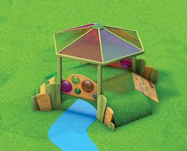 Woodland Sensory Grass Mound