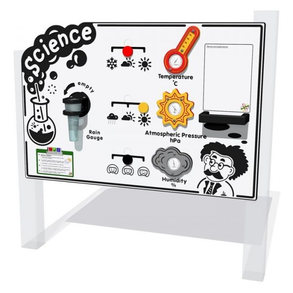 science play panel sensory play