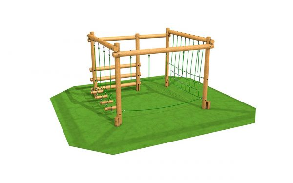 Fitness Stations and Frames activity frame and trim trail