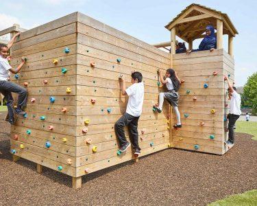 Falcon Island Challenge climbing wall