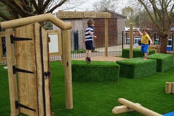 Enchanted Door playground equipment
