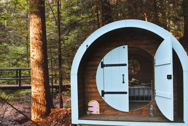 Earth Pods for Leisure