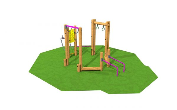 Fitness Stations and Frames monkey bars