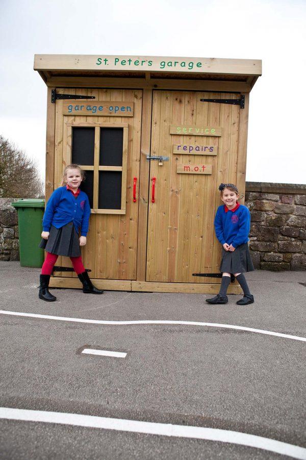 Garage Storage playground equipment