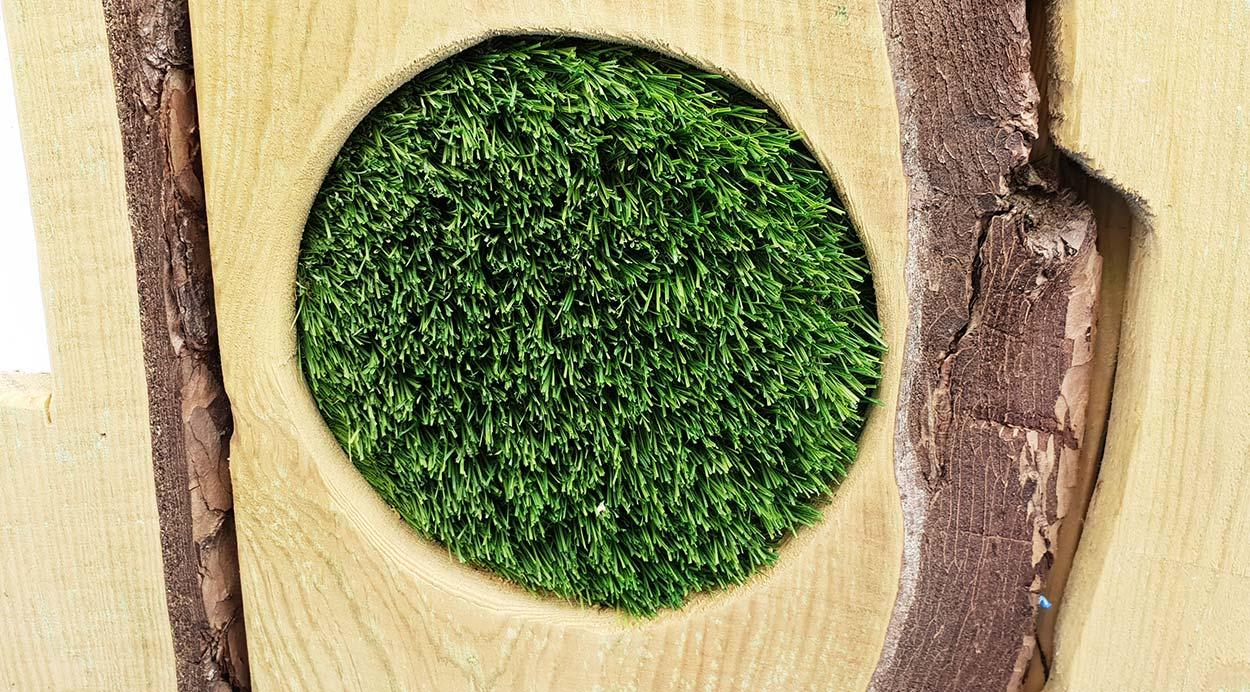 grass playground surfacing