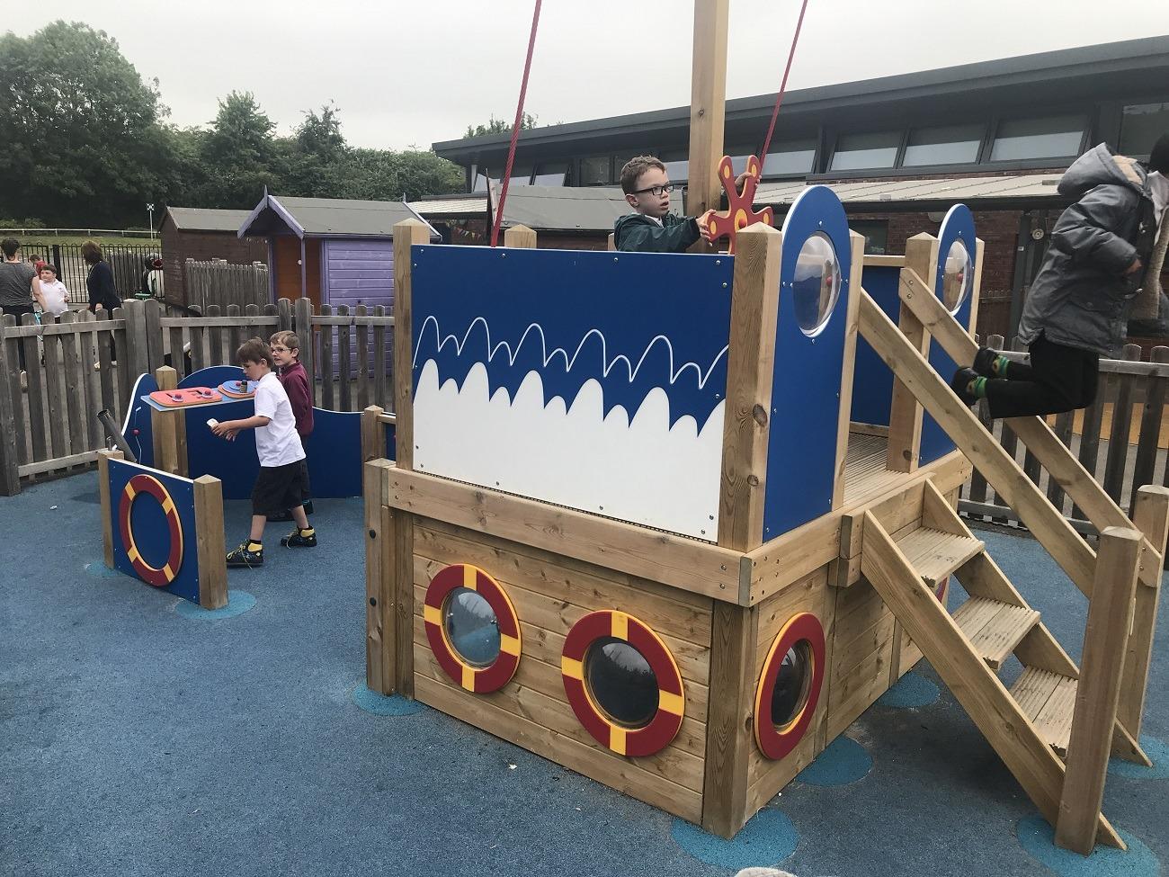 School Playground Equipment pirate ship
