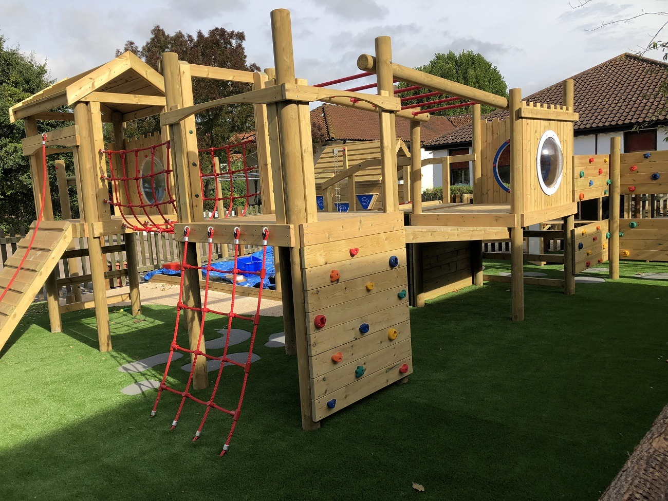 Wooden Playgroud Equipment