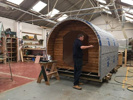 Earth Pods for Leisure workshop