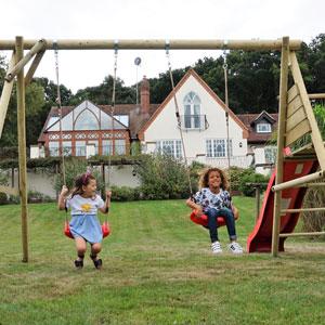 Garden Swings and Slides