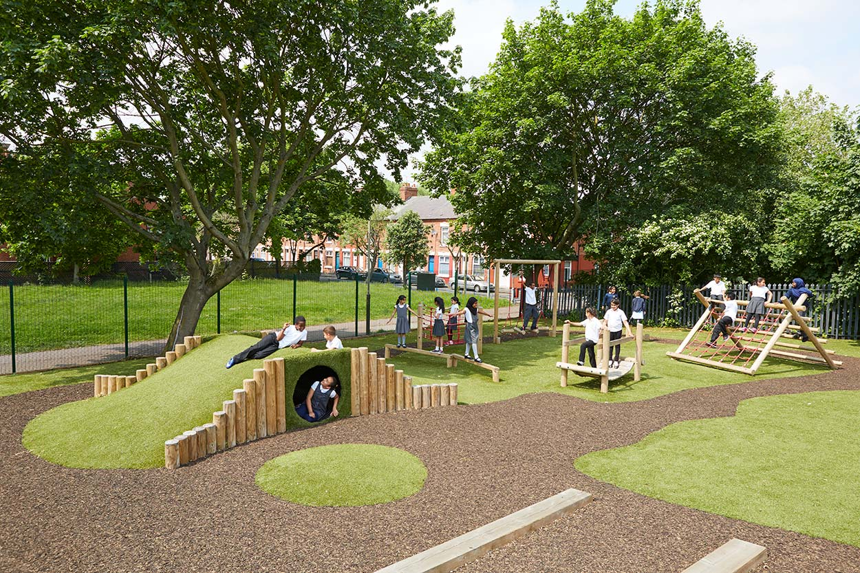 outdoor playground playscape area
